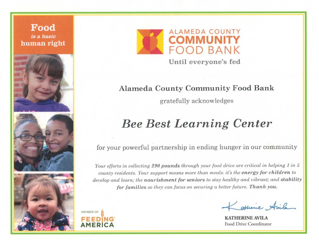Holiday 2019 Food Drive at Bee Best